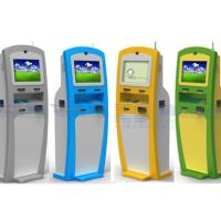 China Customized All-in-one Payment Card Dispenser Kiosk For Check-in Hotel Use wholesale
