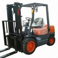 China Diesel Forklift with 3.5T Rated Loading Capacity and 1,070mm Fork Length, 3.5T Lift Truck wholesale