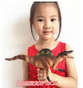 Customized Dinosaur Model Toys L28*W7.5*H13 Plastic Jurassic Park Spinosaurus Toy