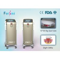 China Vertical champagne ipl/shr fda approved laser hair removal machine pain free wholesale