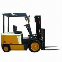 Buy cheap Electric forklift with maximum lifting capacity of 3T from wholesalers