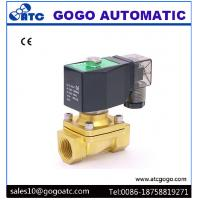 China Normally Close / Open Water Solenoid Valve With Stainless Steel / Brass Body Material wholesale