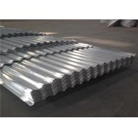 China 1100 3003 Corrugated Aluminum Roofing Sheet 500 - 1500 Width Aluminium Corrugated Sheet wholesale