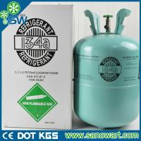 China refrigerant gas r134a with disposable cylinder package 13.6kg on sale