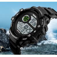 Quality Skmei Fashion Men Multifunction 50m Waterproof Chrono Alarm PU Strap Sport Watch Outdoor Watches 1280 for sale