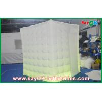 China Durable Inflatable Photo Tent One Side Door For Wedding Ceremony on sale