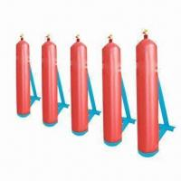 Buy cheap CNG Cylinder with 125L Water Capacity and 25MPa Service Pressure from wholesalers