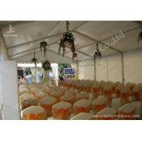 China 6M Modular Design Commercial Event Tents , Outdoor Event Canopy With Soft PVC Windows wholesale