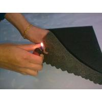 China Flame Resistant Industrial Foam Sheets with Wave Surface 18 D - 65 D Density wholesale