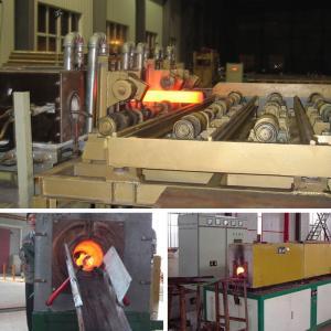 China Steel Round Bar Induction Heat Treatment Machine 200kw Max Input Power on sale