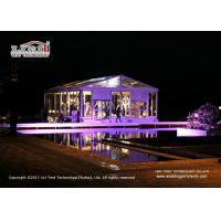 Buy cheap Transparent Roof Cover 10m Width  Marquee Tent for Outdoor 200 People Wedding from wholesalers