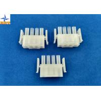 China Electronic Single Row Housing Wire To Wire Connectors 6.35mm Pitch Male Housing wholesale