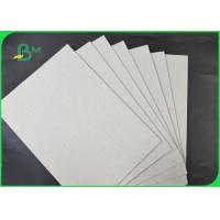 China 1.35MM 1.5MM Unfoldable Greyboard / Chipboard Size Customized For Mooncake Box on sale