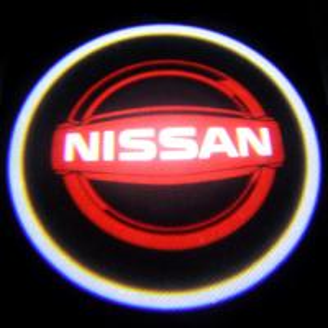 Quality LED Door Projector Lights 3W NISSAN logo car door light cree welcome lamp for sale