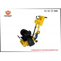 China Portable Concrete Floor Planer With Tungsten Carbide Scarifier Cutters wholesale