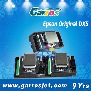 China Large Format Inkjet Printer DX5 Eco Solvent Printhead wholesale