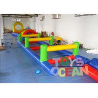 China Exciting Challenge Races Commercial Obstacle Course Inflatable Rentals Customized wholesale