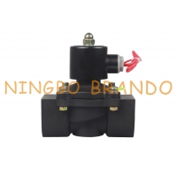 China 2 Way Normally Closed Plastic Electric Water Solenoid Valve 2 12VDC 24VDC 220VAC on sale