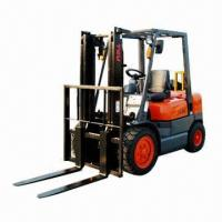 China Internal Combustion Diesel Forklift with 3T Loading Capacity wholesale