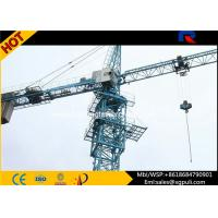 Quality 380V/50Hz Power Electric Hammerhead Tower Crane 41m Free Height for sale