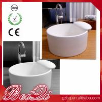 China Factory Price New Ceramic Pedicure Bowl Used Foot Spa Pedicure Chair Foot Bath Basin wholesale