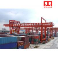 China Double Girder RMG 35 Ton Mobile Container Used Gantry Crane For Sale wholesale