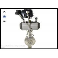 China Stainless Steel Wafer Butterfly Valve Actuator With Positioner , Long Working Life wholesale