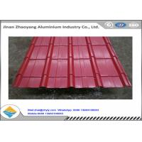 China Color Coated 1060 Corrugated Aluminum Sheet Zinc Aluminum Roofing Panels wholesale