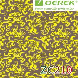 ZC210 Bubble Free Digital Printing Doodle Film / Graffiti Sticker Bomb for Car Wrapping