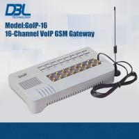 Buy cheap DBL SMS Server GoIP SMS Gateway IETF SIP V2 , 16 Port Sip GSM gateway from wholesalers