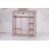 Buy cheap wooden Non-woven Wardrobe, Bedroom wardrobe  25mm /19MM 3 door from wholesalers