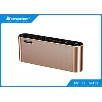 China Box Shape Home Bluetooth Speakers Two Channels Built - In 2200mAH Battery wholesale