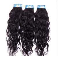 Quality Natural Black Brazilian Curly Human Hair Extensions No Shedding No Damage for sale