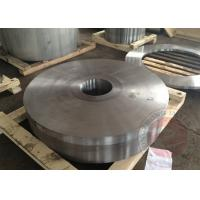 Quality Precision Rolled Ring Forging ASTM A388 EN10228 , Carbon Steel Forged Flange for sale