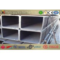 China EN10219 S355JR Rectangular Steel Tube High Tensile Strength For Steel Structure wholesale