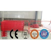 Wholesale Powder coated removable Interlock Temporary Safety Fencing from china suppliers