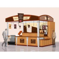 China Plywood, glass, formica outdoor touchscreen coffee Retail mall public information kiosk wholesale