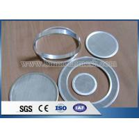 China Customized Woven Wire Mesh Extruder Screen Filter Discs on sale