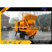 37kw Power Hydraulic Concrete Mixer Pump Trailer 40m3/h Pumping Output