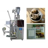 Buy cheap Granular / Powder Drip Coffee Packing Machine With 3 Sides Seal from wholesalers