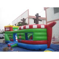 China inflatable obstacle course / inflatable ship obstacle course for kids play wholesale