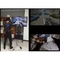 Buy cheap High Immersion Virtual Reality Systems Ultra Realistic For Entertainment / Military from wholesalers