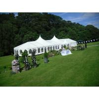 China Fireproof European Large Wedding Tents / Outdoor Garden Party Tent wholesale