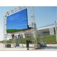 China SMD P 8mm Full Color LED Display For Outdoor Advertising , 5000 cd / ㎡ 120° wholesale