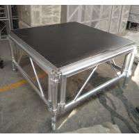 China Outdoor Wooden and Aluminum Assembling Portable Stage Platforms for Wedding , Concert wholesale