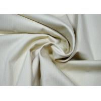 China Durable Herringbone Cotton Twill Fabric Anti - Static No Harmful Chemicals wholesale