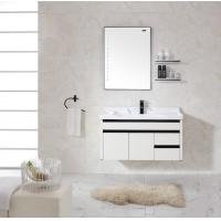 China Bathroom Cabinets With Towel Hanger Accessories Washroom Mirror wholesale