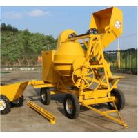 China 500L Mobile Portable Air-Cooled Diesel Engine Concrete Mixer,Self Loading Concrete Mixer on sale