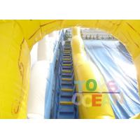 Gaint Inflatable Water Slide With Stairs For Children Water Park