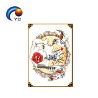 China Daily Life Cute Cartoon Stylish Design Body Art Temporary Tattoo Sticker in Hot Sale on sale